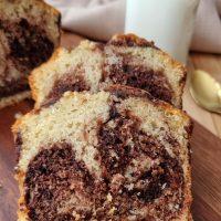 עוגת שיש וניל שוקולד קוקוס
